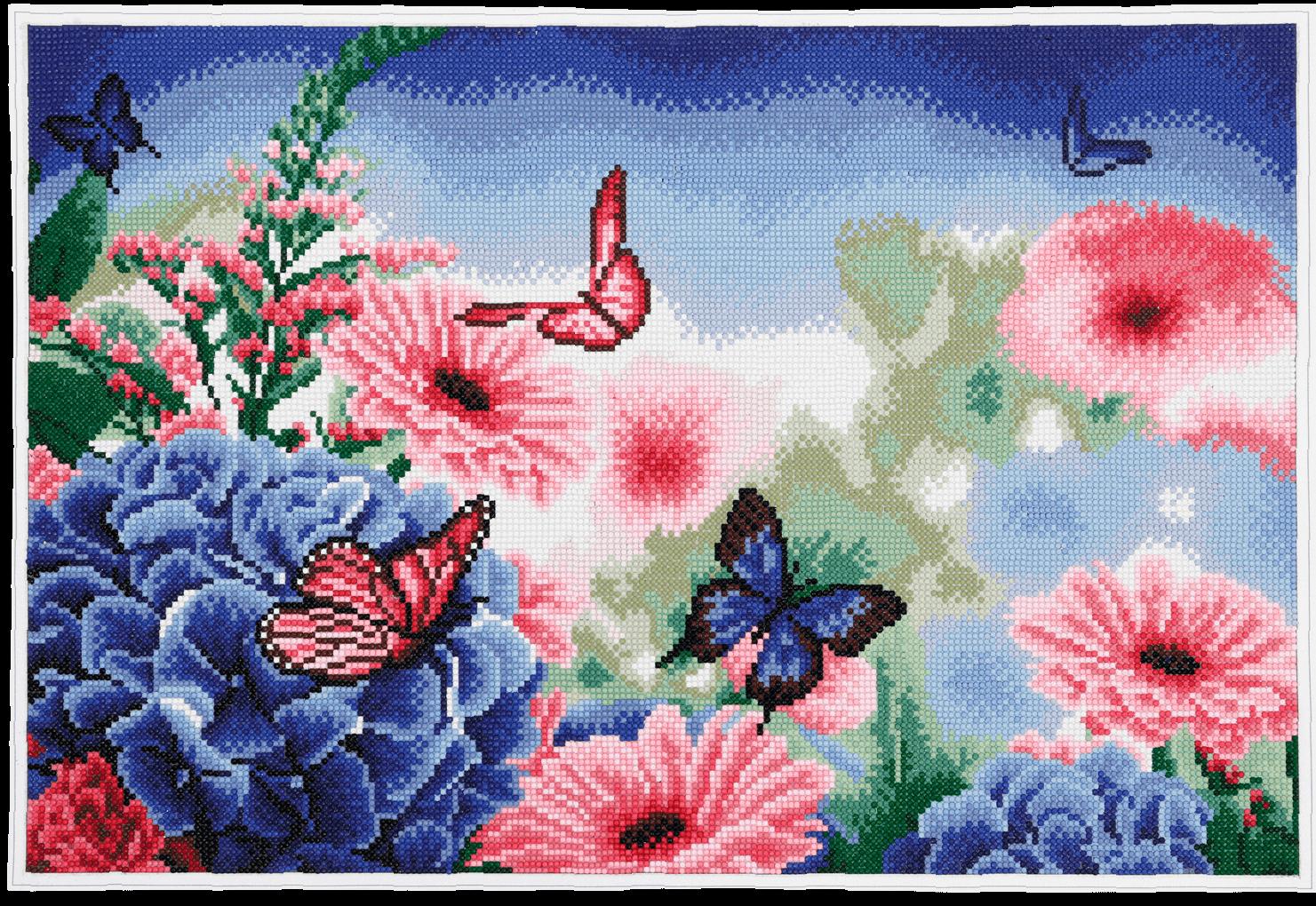 diamond painting action vlinder
