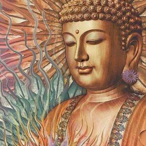 Diamond painting boeddha groot