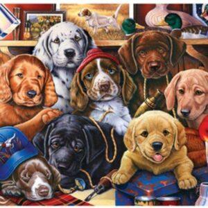 Diamond painting honden