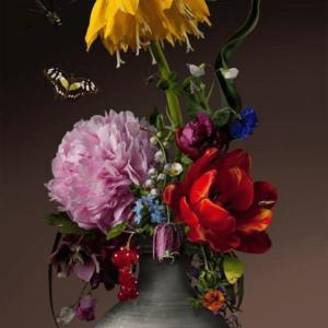 Diamond painting stilleven bloemen