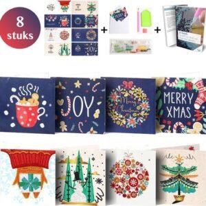 Kerstkaarten met enveloppen