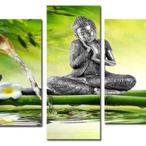 diamond painting boeddha 5 luik