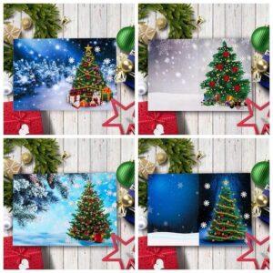 kerstkaarten kerstbomen