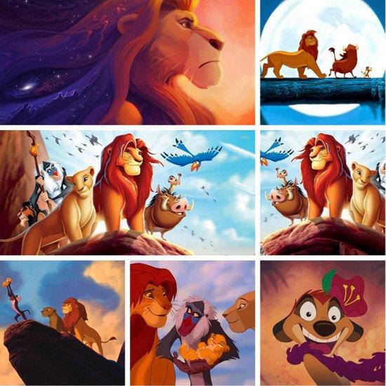 Diamond Painting Lion King