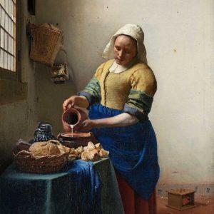 Diamond Painting Melkmeisje Johannes Vermeer