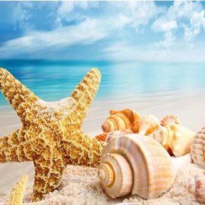 Diamond painting strand en zee