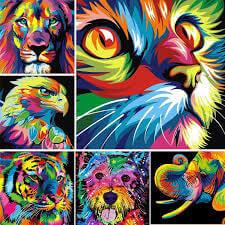 bol.com diamond painting dieren
