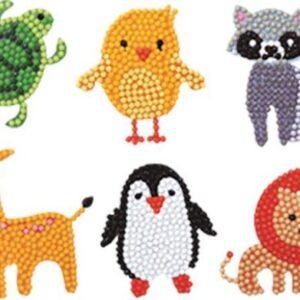 diamond painting stickers dieren