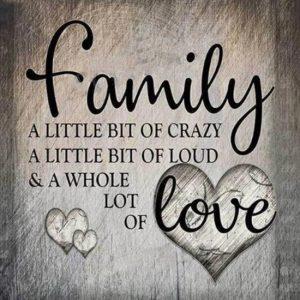 diamond painting tekst familie liefde