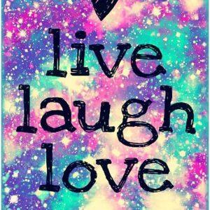 diamond painting tekst live laugh love