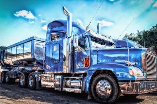 diamond painting vrachtwagen