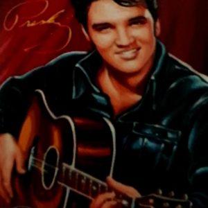 Diamond Painting Elvis met gitaar
